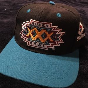 Retro 1996 super bowl hat